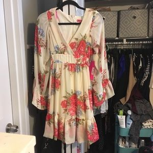 Brand new Betsey Johnson floral dress size 8